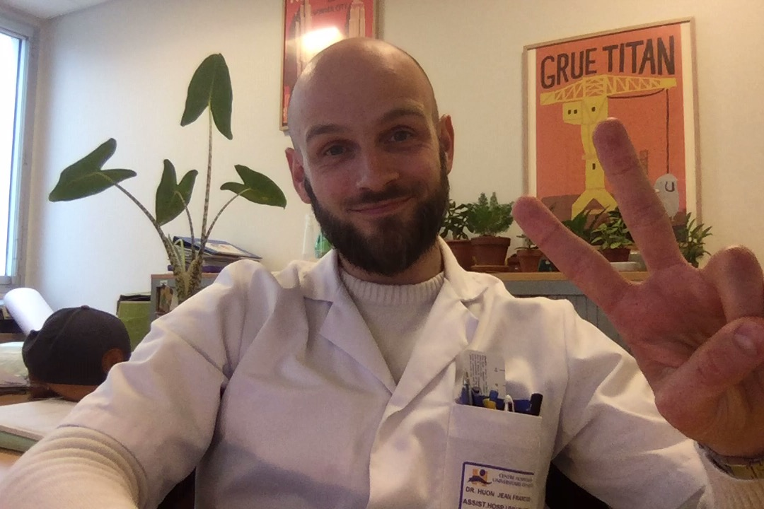 Photo Jean-François Huon Pharmacien au CHU de Nantes